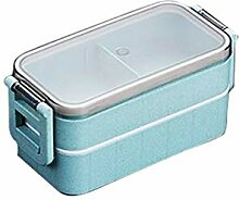 Weizenstroh Mikrowelle Bento Box Kind Lunch Box