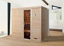 Weka 529.2520.30110 Design-Sauna 529 GT OS, Gr.2
