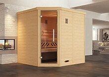 weka Design-Sauna KEMI Eck 1 GT, Sparse