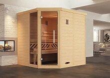 weka Design-Sauna KEMI Eck 1 GTF, Sparse