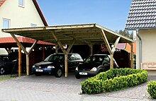 Weka Doppelcarport Premium Y