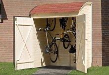 weka Fahrrad- und Mehrzweckbox, natur, 19 mm