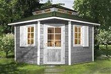weka Gartenhaus 149 5-Eck m.Dachaufsatz Gr.2, 28 mm