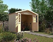 weka Gartenhaus 218 Gr. 2, 28 mm, Satteldach mit