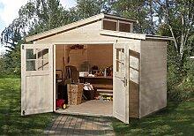 weka Gartenhaus 226 Gr.3, natur, 21 mm