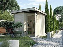 weka Gartenhaus 229 Gr.1, natur, 21 mm
