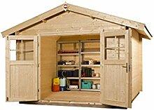 weka Gartenhaus Premium28 DT, 250x250