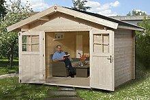 weka Gartenhaus Premium28 DT, 300x380, V60,