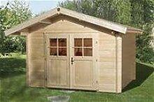 weka Gartenhaus Premium28 DT, 300x380