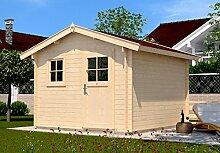 Weka Gartenhaus Premium28FT natur 380x280cm Sparse