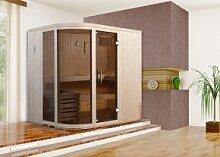 WEKA Heimsauna Design-Sauna SARA 1 - 7,5 kW