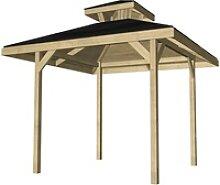 Weka Pavillon Gartenoase 651 Gr. 1 mit Dachaufsatz