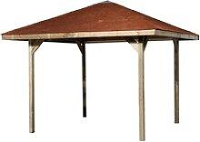 Weka Pavillon Gartenoase 651 Gr. 2 Sparset 333 cm