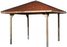 weka Pavillon Paradies 1, (Set), BxT: 294x294 cm,