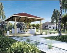 weka Pavillon Paradies 2, BxT: 380x380 cm