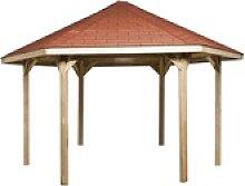 weka Pavillon Paradies 2, BxT: 399x461 cm