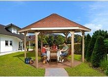 weka Pavillon Paradies 2, (Set), BxT: 399x461 cm,