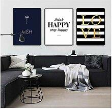 wekeke Wandkunst Bleiben Glückliche Liebe Bilder