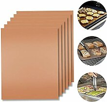 Welawn BBQ Grill Badematten-Set von 6, Non Stick