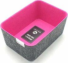 Welaxy Filz-Aufbewahrungsbox für Schublade hot
