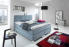 WELCON Luxus Boxspringbett ROCKSTAR 9cm Premium