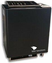 Well Solutions® Bio Mat EOS Kombi Saunaofen 9 kW inkl. Saunasteine Original Well Solutions by EOS, (9 Kw)