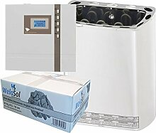 Well Solutions® Saunaofen Scandia Mini mit EOS Sauna Steuerung ECON D1
