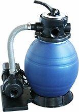 well2wellness Pool Sandfilteranlage/Kompaktfilter D300 - speziell für Quick Up Pools und kleine Aufstellbecken