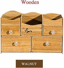 WELLDRESSED Badezimmer-Organizer aus Holz für