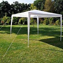 WELLIKEA HI Pavillon 3×3 m Weiß