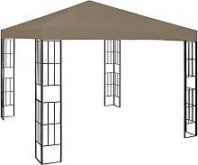 WELLIKEA Pavillon 3x3 m Taupe