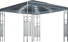WELLIKEA Pavillon mit Lichterketten 300x300 cm