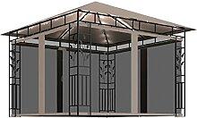 WELLIKEA Pavillon mit Moskitonetz und