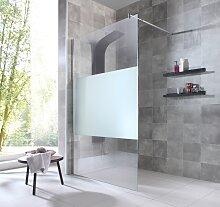 welltime Duschwand Duschabtrennung, Breite 120 cm,