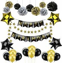 Welltop Geburtstag Deko, Geburtstag Dekoration