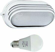 Welse -LED 10W - E27 - Aluminium -Alu wandstrahler