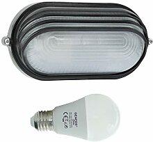 Welse-LED 10W - E27 - Aluminium -Alu wandstrahler
