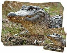Welsh Crocodile 'Caru Chi Dad' Zwillings