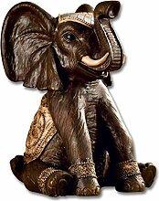 Weltbild Blumenhocker Elefant - Beistelltisch Mit