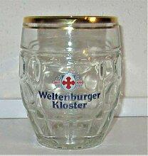 Weltenburger / Kloster Kugel-Seidel/Bierglas / 0,5