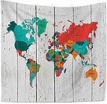 Weltkarte Decor Wandteppich für Home Decor Beach Werfen, F, 150130cm, C, 200*150cm