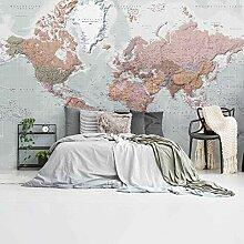 Weltkarte Niederländisch dekorativ - Fototapete