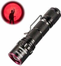 Weltool M7-RD Rotlicht Taschenlampe Tragbare
