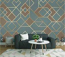WEMUR Abstrakte geometrische Mustertapete für
