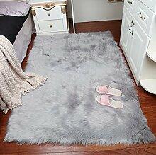 WEN-Teppich Luxus Fluffy Sofa Rechteck Bodenmatte