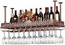 WEN-Wine Rack Bar Weinregale - Deckenmontage