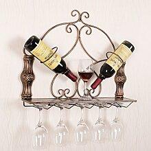 WEN-Wine Rack Weinregal European Wand Weinregal
