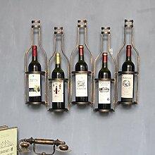 WEN-Wine Rack Weinregal Vintage tun die Alten