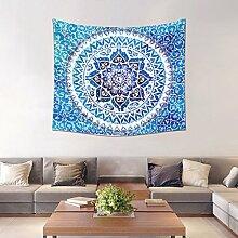 WENBIAOXUENordic Wandbehang Anhänger Schlafzimmer Hintergrund Wand Dekoration Wohnzimmer mit Wandteppich , style three , 150*130cm