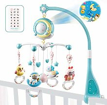 wendaby Baby-Musical Krippe Mobile Mit Projektor